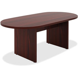 Lorell Conference Table, 36 in x 72 in x 30 in, Walnut