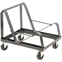 Lorell Steel Frame Dolly, 20 inWx25-1/2 inLx22-3/4 inH, Black