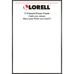 Lorell Frame, Poster, Wall Display Only, 18 inWx24 inH, Black