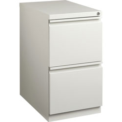Lorell Mobile Pedestal File, 15 in x 19-7/8 in x 27-3/4 in, Deep Light Gray