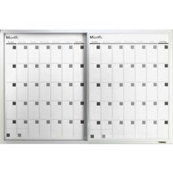Lorell Magnetic Calendar Board, 24 inx36 in, Frost
