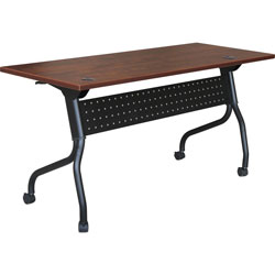 Lorell Training Table, 23-3/5 in x 48 in x 29-1/2 in, MY/BK