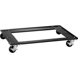 Lorell Dolly for Commercial Vertical Files, Adj, 30 inx18 inx4 in, Black