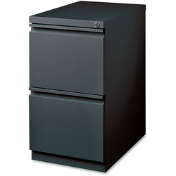 Lorell Mobile Pedestal File, FF, 15 in x 19-22/25 in x 27-3/4 in, CCL