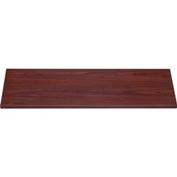 Lorell Lateral File Top, 36 in x 18 5/8 in x 1 in, Mahogany
