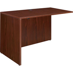 Lorell Rectangular Return, 41 in x 23-3/5 in x 29-1/2 in, Mahogany