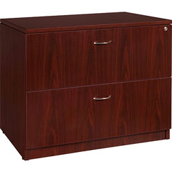 Lorell Lateral File,35 inx22 inx29-1/2 in,Mahogany
