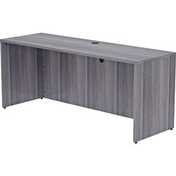 Lorell Credenza Shell, 72 inx24 inx29-1/2 in, Weathered Charcoal