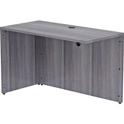 Lorell Return Shell, 48 inx24 inx29-1/2 in, Weathered Charcoal