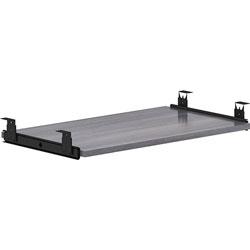 Lorell Keyboard Tray, 26 inx15-3/8 inx3/4 in, Weathered Charcoal