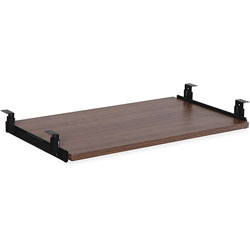 Lorell Keyboard Tray, 26 in, Walnut