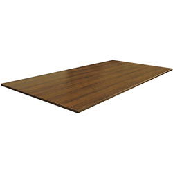 Lorell Rect Conference Table, 48' x 96 in, Walnut
