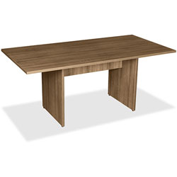 Lorell Rect Conference Table, 36 in x 72 in, Walnut