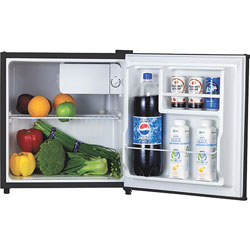 Lorell Compact Refrigerator, 1.6L, Black