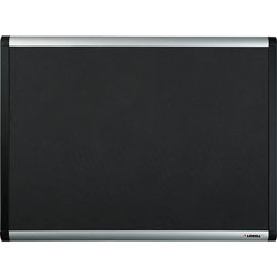 Lorell Mesh Bulletin Board w/ Hardware, 3'' x 4'', Black