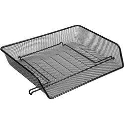 Lorell Side Load Letter Tray, Black