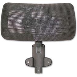 Lorell Optional Headrest, 11-4/5 in x 12-3/5 in x 6-3/10 in, Black