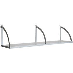 Lorell Panel Shelf, 60 in, Aluminum