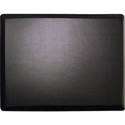 Lorell Desk Mat, 3-Layer Memory Foam, 30 inWx20 inLx3/4 inH, Black