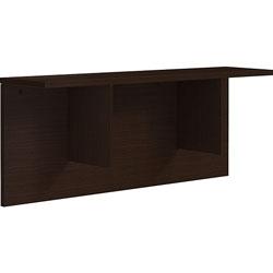 Lorell Reception Counter, 47-1/4 inx11-7/8 inx12 in, Espresso