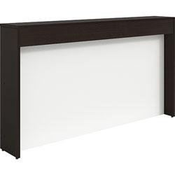 Lorell Reception Counter, 74-1/4 inx11-7/8 inx12 in, Espresso