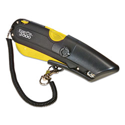 LabelMaster Easy Cut 2000 Utility Knife, Yellow