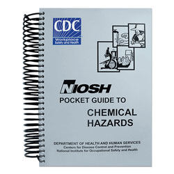 LabelMaster NIOSH Pocket Guide to Chemical Hazards, Spiral, 454 Pages
