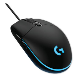 Logitech G203 Prodigy Gaming Mouse, USB 2.0, Right Hand Use, Black