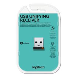 Logitech USB Unifying Receiver, Black