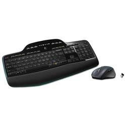 Logitech MK710 Wireless Keyboard + Mouse Combo, 2.4 GHz Frequency/30 ft Wireless Range, Black