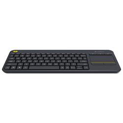 Logitech Wireless Touch Keyboard K400 Plus, Black