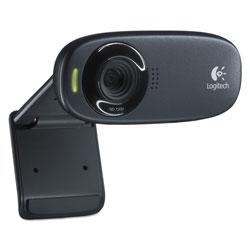 Logitech C310 HD Webcam, 1280 pixels x 720 pixels, 1 Mpixel, Black