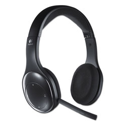 Logitech Wireless Headset, Black