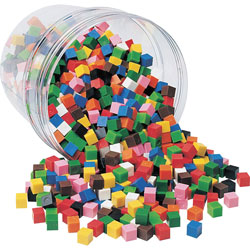 Learning Resources Centimeter Cubes Set, 1000 Pieces