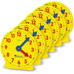 Learning Resources Classroom Clock Kit , Additional Set