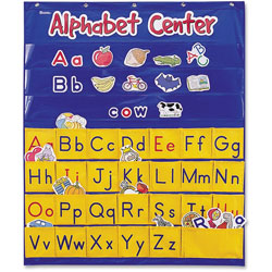Learning Resources Alphabet Center Pocket Chart, 28 in x 34 in, Multi