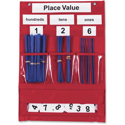 Learning Resources Counting and Place Value Pocket Chart