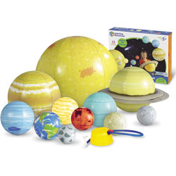 Learning Resources Giant Inflatable Solar System, 5 in-23 in D, Multi