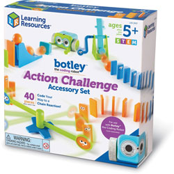 Learning Resources Accessory Set, Action Challenge, 9 inWx9 inLx4-1/2 inH