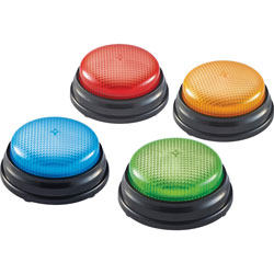Learning Resources Lights/Sounds Buzzers Set, 4 Set