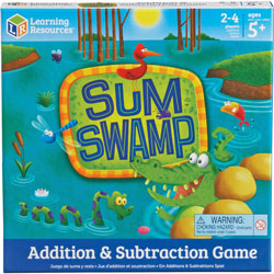 Learning Resources Sum Swamp Addition & Subtraction Game, Ages 4and Up