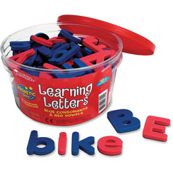 Learning Resources Magnetic Learning Letters, Upr/Lwr Case, Multi