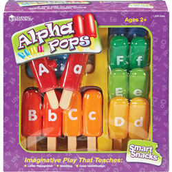 Learning Resources Smart Snacks Alpha Pops, 13/ST, Multi