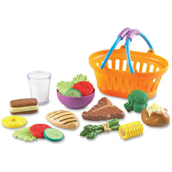 Learning Resources Dinner Basket Set, Multi