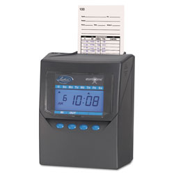 Lathem Time Totalizing Time Recorder, Gray, Electronic, Automatic