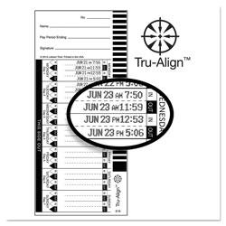 Lathem Time Time Card for Lathem Model 1600E