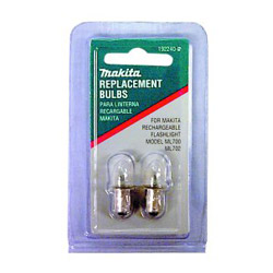 Makita 7.2V Flashlight Bulbs to fit ML700 & ML702
