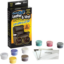Master Caster Leather and Vinyl Repair Kit, Assorted
