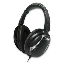 Maxell Bass 13 Headphone with Mic, Black