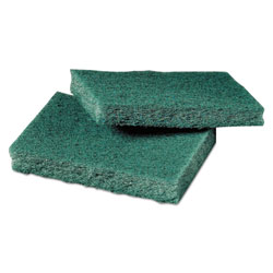 Scotch Brite® General Purpose Scrub Pad, 3 x 4 1/2, Green, 40 per Box/2 Boxes per Carton